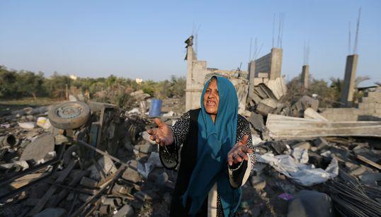 Gaza: 34 morts et plus de 113 blessés sous les bombardements