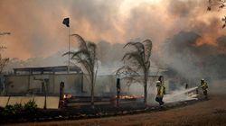 Los incendios forestales en Australia siguen creciendo y dejan cuatro