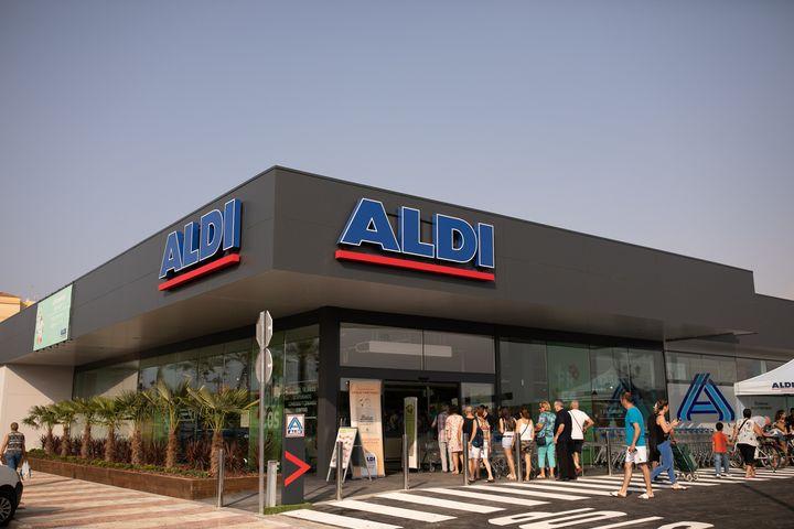 Un supermercado de Aldi en Roquetas de Mar (Almería).