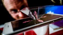 Un hologramme 3D qu'on peut