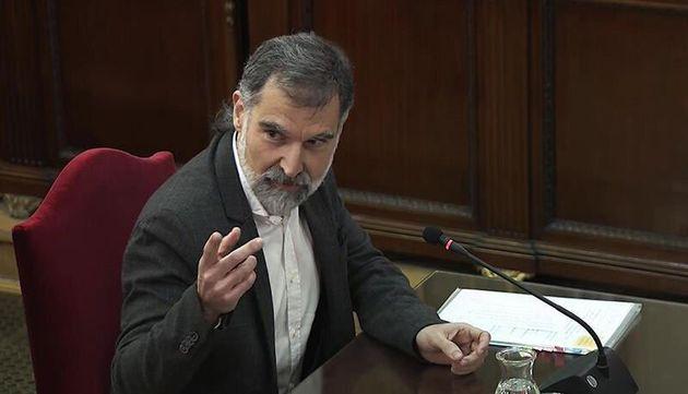 El presidente de Òmnium Cultural, Jordi