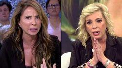 """María Patiño denuncia la """"estafa"""" de Carmen Borrego: """"Eres una cobarde y una"""