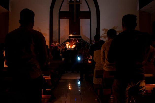 Χριστιανοί προσεύχονται...