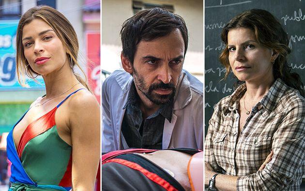 Grazi Massafera,Julio Andrade e Débora