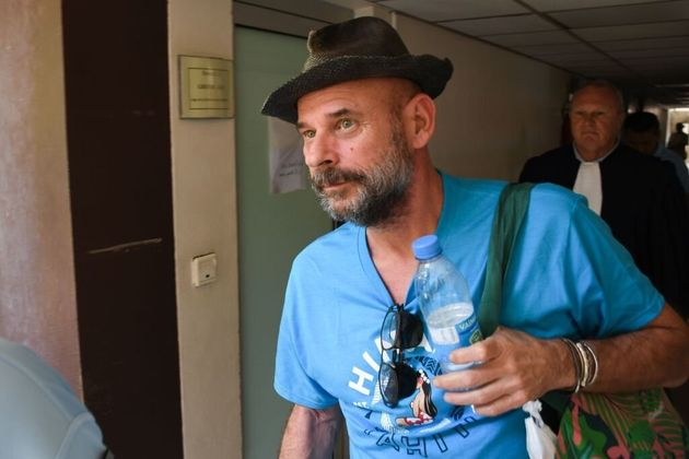 Cirque du Soleil co-founder Guy Laliberté, arrives at a courthouse in Papeete, French Polynesia,...