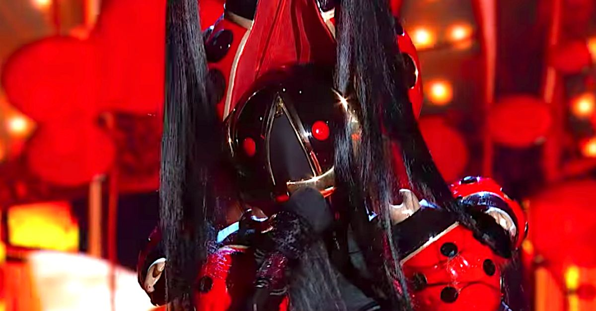 'The Masked Singer' Unmasks Ladybug And She's Reality Show Royalty (Spoiler)
