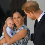 Meghan Markle, Prince Harry Share Previously Unseen Pic Of Little