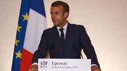 Face à la crise à l'hôpital, Macron promet des