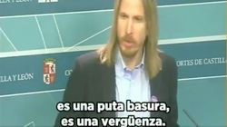 El líder de Podemos en Castilla y León estalla ante la última de Vox: