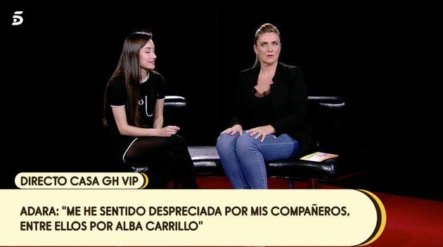 Adara y Carlota Corredera en la casa de GH