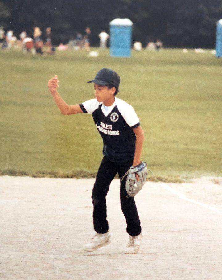 I was an infielder.