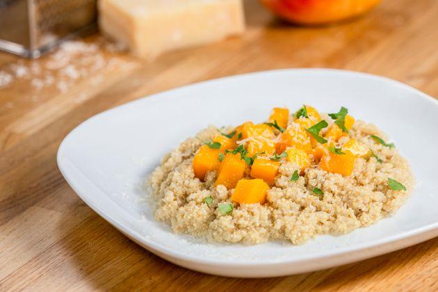 Risotto de quinoa con