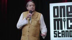 6 Hilarious Moments From Shashi Tharoor's Stand-Up Comedy