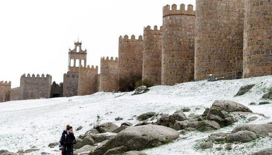 España se tiñe de blanco... en otoño: las imágenes más espectaculares del