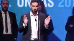 El aplaudido discurso de La Resistencia al recibir un premio
