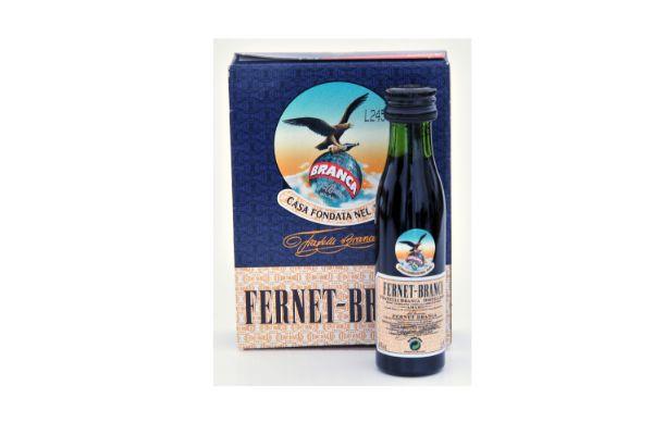 Fernet-Branca is a popular herbal amaro.