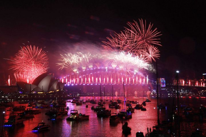 2018 New Year's Eve Fireworks in Sydney