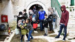 Μετανάστες και πρόσφυγες αρνήθηκαν να μείνουν στη μονή της Κοιμήσεως Θεοτόκου