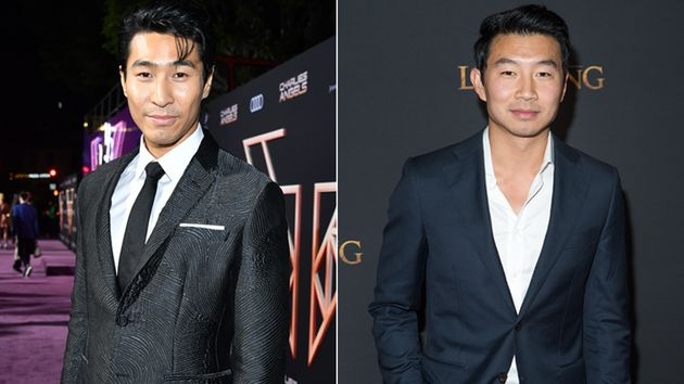 Actors Chris Pang (L) and Simu Liu (R) have spoken out after a media publication mixed them