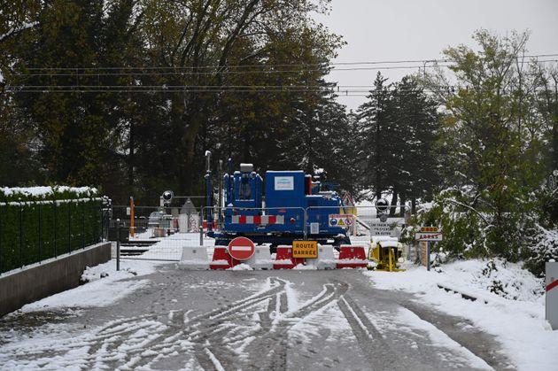 Jeudi 14 novembre, d'impressionnantes chutes de neige ont eu lieu, en particulier dans la région