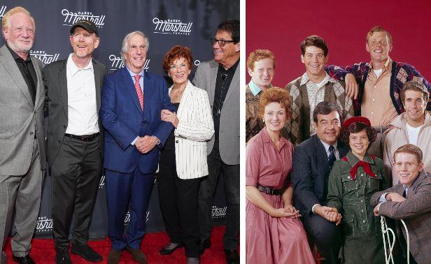 Altro che Beverly Hills. La reunion più bella è quella del cast di Happy ...