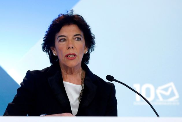 La portavoz del Gobierno en funciones, Isabel