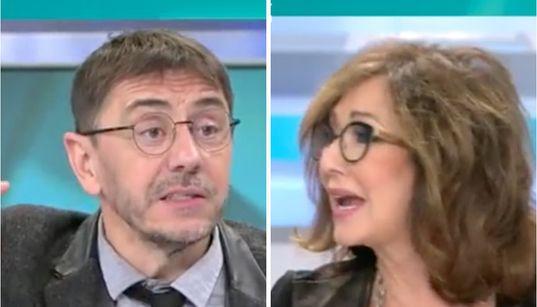 El comentario de Monedero sobre Carlos Herrera que ha cabreado a Ana Rosa