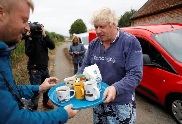 Boris Johnson's peculiar tea recipe has come under