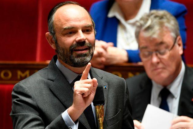 Edouard Philippe à l'Assemblée nationale le 12 novembre