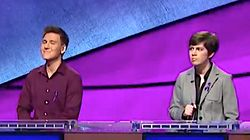 James Holzhauer, Emma Boettcher Stumped By Easy Clue In 'Jeopardy!'