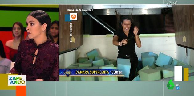 Cristina Pedroche, en 'Zapeando' el 14 de noviembre de