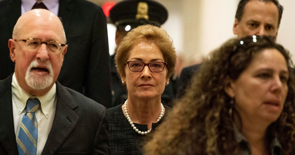 Marie Yovanovitch To Testify Publicly In Trump Impeachment Inquiry