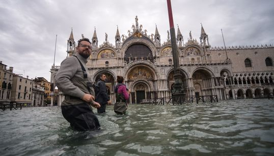 Venice Mayor Blames Climate Change As 'Dramatic' Flooding