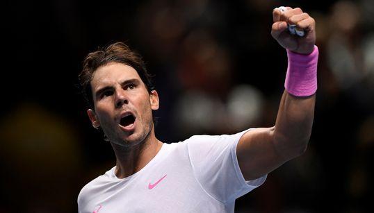 Nadal - Tsitsipas en directo: ATP Finals 2019, en