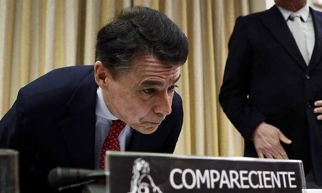El expresidente de la Comunidad de Madrid con el PP Ignacio
