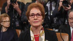 Watch Live: Ousted Ukraine Ambassador Speaks At Trump Impeachment