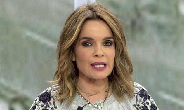 Carme Chaparro, presentadora de 'Cuatro Al