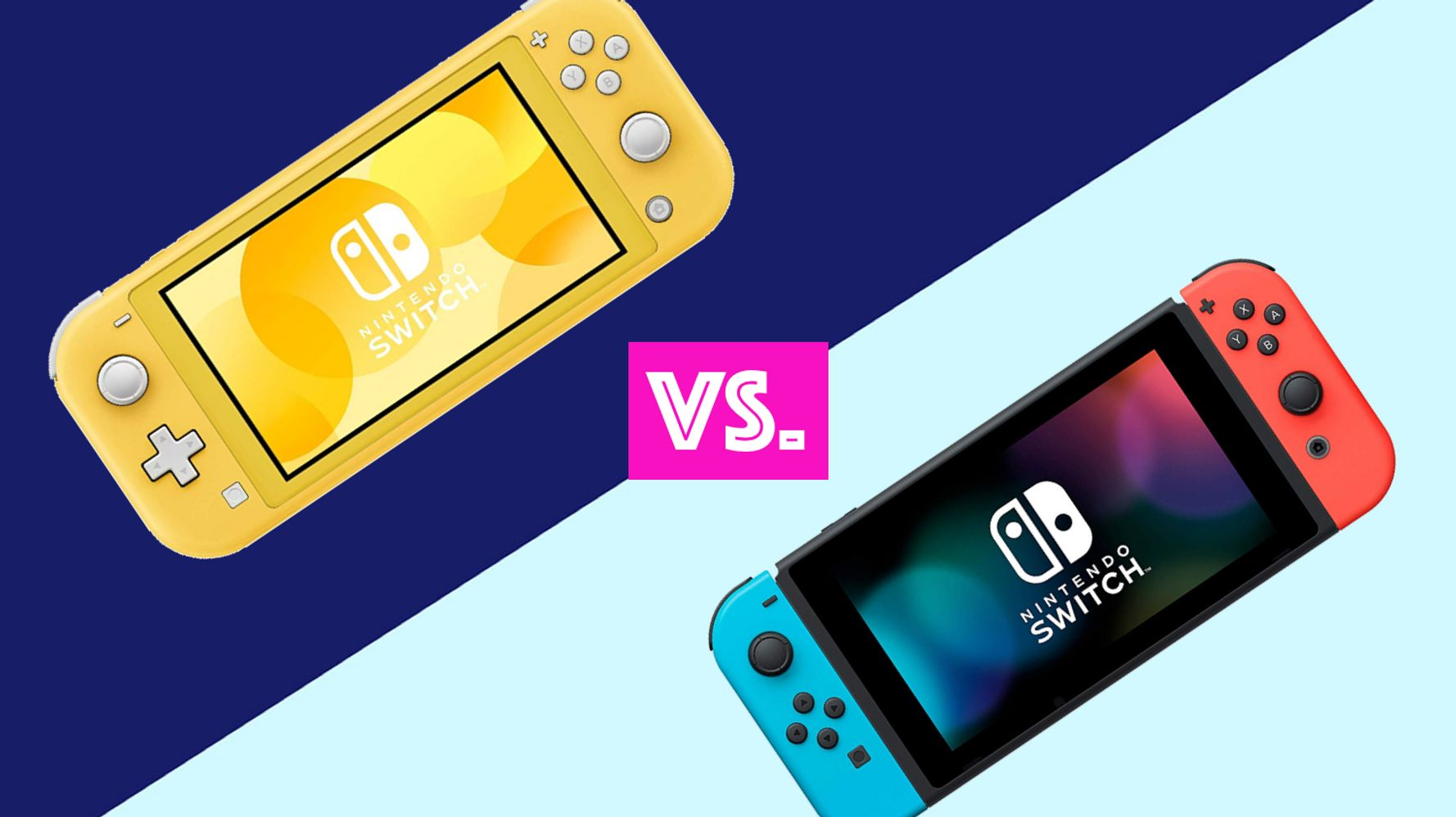 Is The Nintendo Switch Lite Worth It Here S How It Differs From The Original Huffpost Life