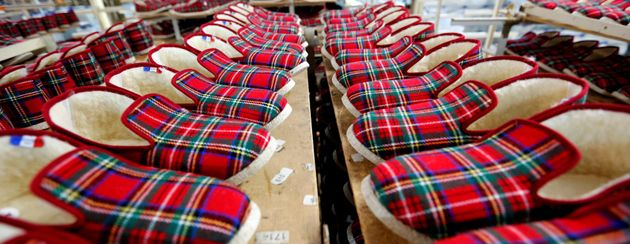La Charente ne fabriquera plus de charentaises (photo d'illustration de charentaises prise le 7 février