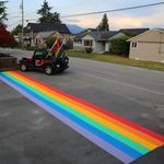 After B.C. City Votes Down Rainbow Crosswalk, Residents Paint 16 Of