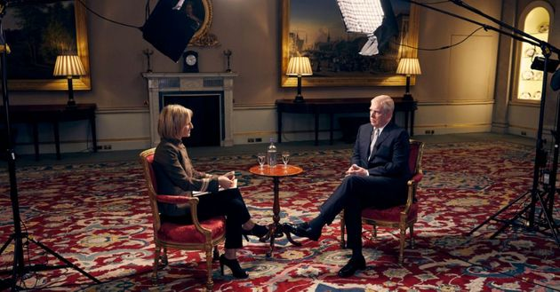 The Duke of York was interviewed by the BBC's Emily