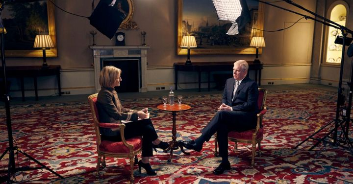 The Duke of York was interviewed by the BBC's Emily Maitlis.