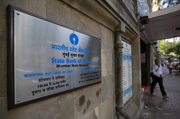 A file photo of a State Bank of India branch in Mumbai.