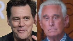 Jim Carrey Slaps Roger Stone With A Cartoon Warning For The