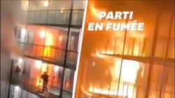 Les étudiants d'un campus britannique évacués de justesse d'un incendie
