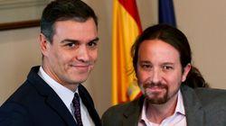 """Sánchez, a la militancia del PSOE: """"El acuerdo con UP resulta imprescindible a la vista del"""