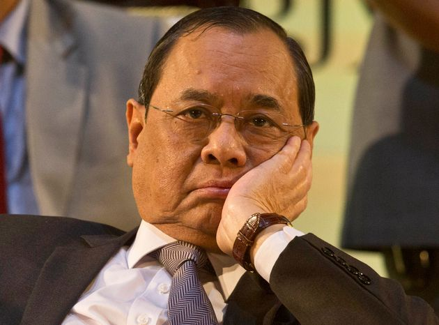 Former Chief Justice of India Ranjan Gogoi in a file