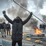 Flambées de violences à Paris pour le premier anniversaire des