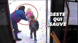 Le réflexe de cette conductrice a sauvé des enfants perdus dans le froid