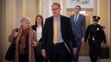 Λευκό Οίκο Προϋπολογισμού Επίσημη Συναντιέται Με Το Σπίτι Της Παραπομπής Ερευνητές